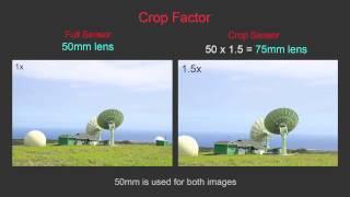 Lesson 21 - Full Frame (FX) vs Crop Sensor (DX)  - Nikon D7000 vs D800