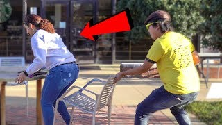 Chair Pulling Prank in Chattanooga!!!