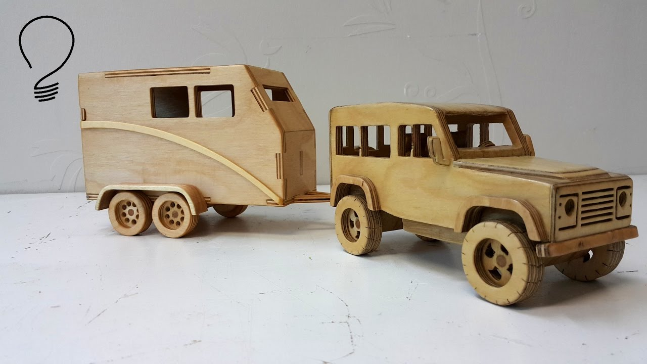 horse trailer out of plywood - youtube