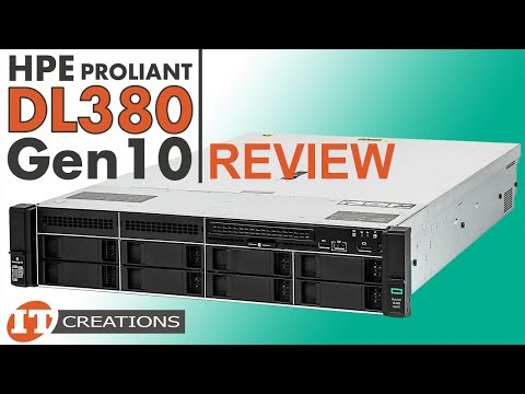 HPE ProLiant DL380 Gen10 Server Review - IT Creations - YouTube