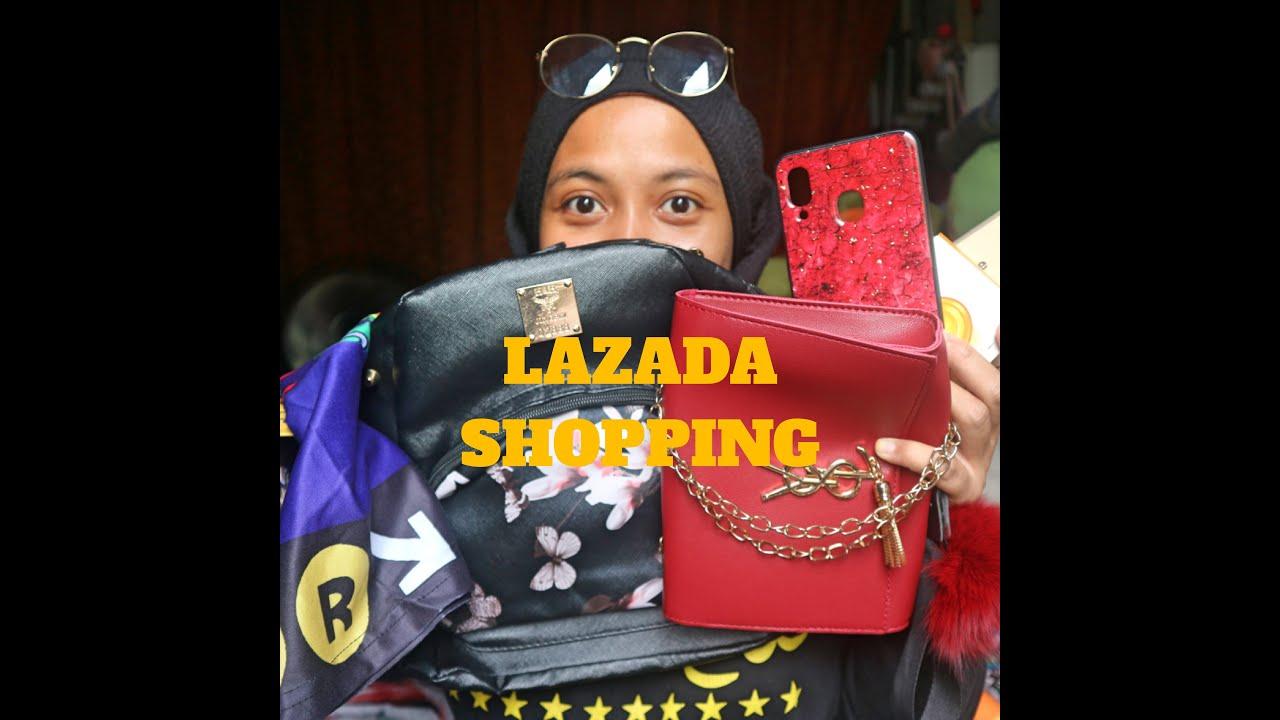 LAZADA MURAH SANGAT!!!!BUAT AKU GILA SHOPPING!!!! - YouTube