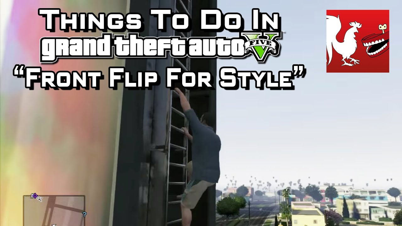 how to learn to do a front flip