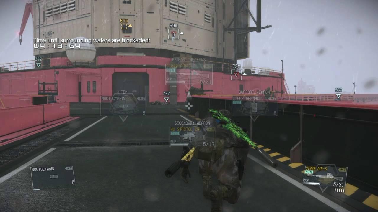MGSV FOB Intel Series: Lv 62 Grade 9 (Snipers)