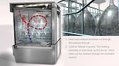 Hobart® - LXi™ Commercial Undercounter Dishwasher - YouTube on hobart lxi prices, hobart dishwasher screen, hobart booster pump, hobart dishwasher lxi diagram 130017 h,