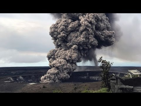 Hawaii's Kilauea volcano could be ready to blow explosive large rocks and ash into the air