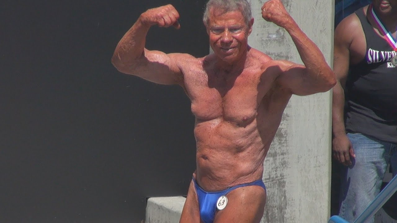 Jim Arrington 80 Year Old Bodybuilder\'s Posing Routine at Muscle ...