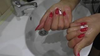 видео Лайфхак: чем отмыть руки от граната