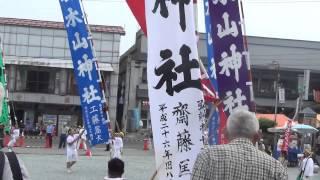 青森県 岩木山 お山参詣 2014 十面沢お山の会