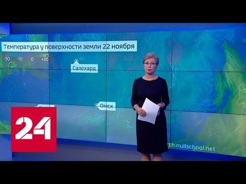 """""""Погода 24"""": сибирские морозы движутся в среднюю полосу России - Россия 24"""