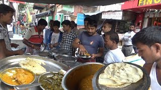 Cheap & Best Kolkata Street Food - Kulcha/Roti/Fried Rice/Paneer/Palak - Whatever You Want