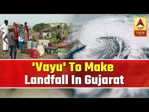 Cyclone Vayu To Make Landfall In Gujarat Coast On Thursday | Meghdoot Aaya | ABP News