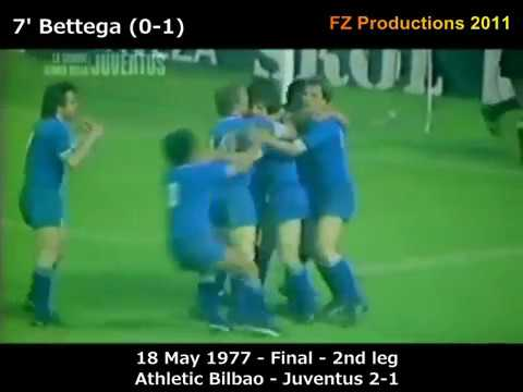 1976-1977 UEFA Cup: Juventus Goals (Road to Victory) - YouTube