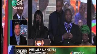 Repeat youtube video What did the Mandela Memorial 'fake interpreter' Actually Say?