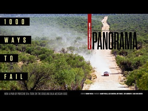 1000 Ways to Fail: How a pair of Porsches took on the grueling Baja Mexican 1000
