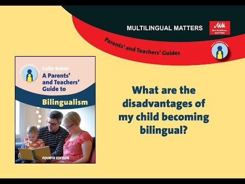 What are the disadvantages of my child becoming bilingual?