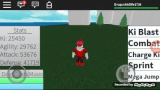 DBZ RAGE ROBLOX GAMEPLAY