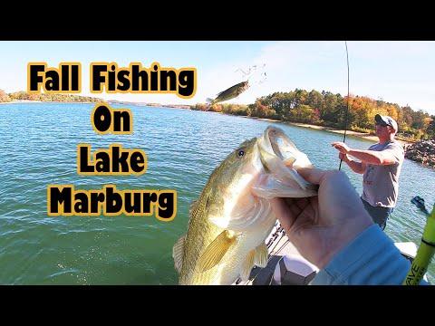 Fall Fishing On Lake Marburg!!!!!