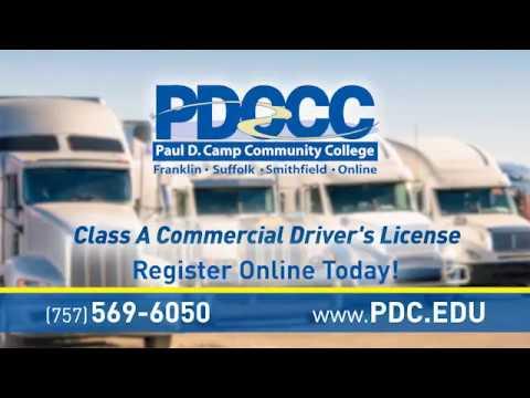 Paul D Camp Cc Cdl Youtube