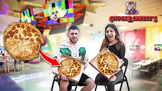 TESTING THE CHUCK E. CHEESE PIZZA CONSPIRACY.. *Shocking Footage*