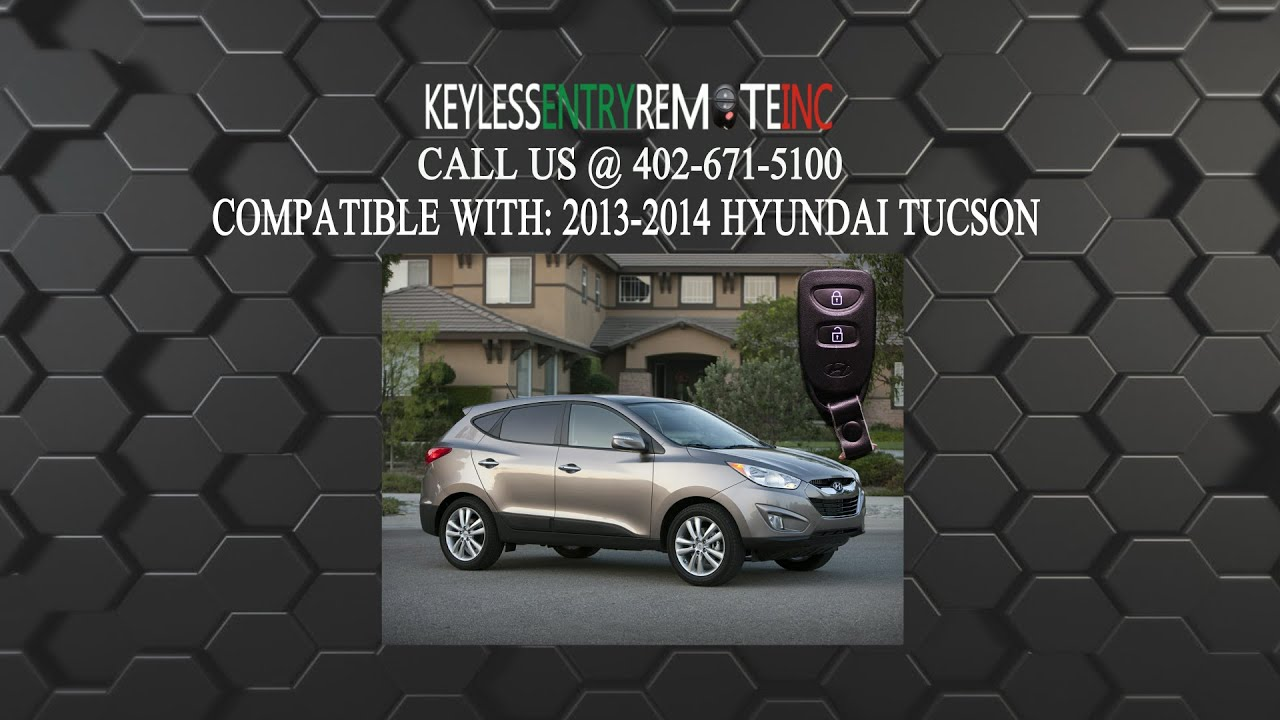 How To Replace Hyundai Tucson Key Fob Battery 2013 2014 Youtube