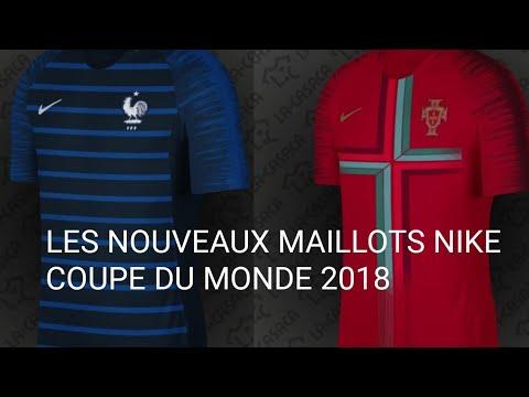les nouveaux maillots nike coupe du monde 2018 youtube. Black Bedroom Furniture Sets. Home Design Ideas