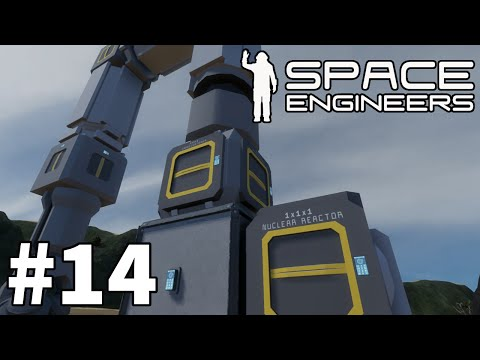 "Space Engineers (Planet Survival) - Part 14 ""The Mining Rig"""