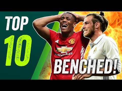 Bale AXED by Madrid? Martial out? Top 10 players to be DROPPED by their clubs
