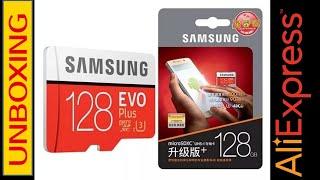 UNBOXING #04. Samsung EVO plus 128 gb micro sd Aliexpress Perú