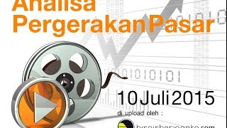 Analisa Forex & Indeks 10 Juli 2015