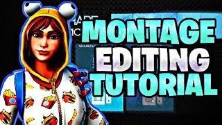 How I Edit My Fortnite Montages On SHAREfactory (PS4 Montage Tutorial)