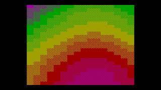 Rainbow (4k intro) - Ivan Roshin  [#zx spectrum AY Music Demo]