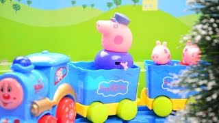 Peppa Pig Electric Train - Unboxing and playing