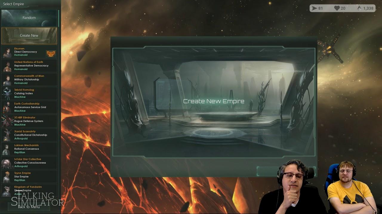 Talking Simulator — Stellaris