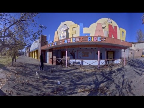 360 virtual reality laffland sylvan beach amusement park ny