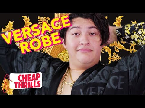 D.I.Y. Versace Robe | Cheap Thrills | Tatered