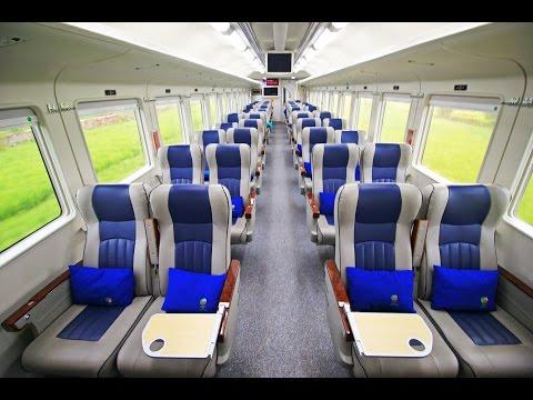 Naik Kereta Api Mewah Eksekutif Gajayana Rangkaian Terbaru 2016