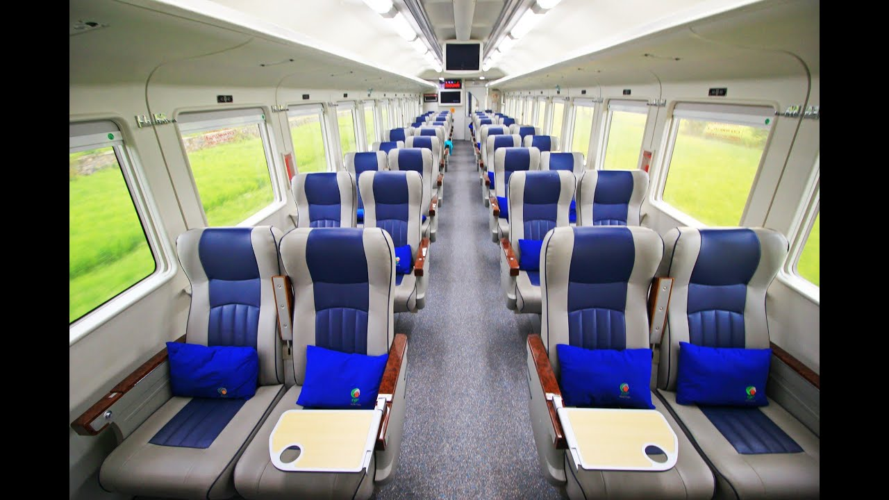 Naik Kereta Api Mewah Eksekutif Gajayana Rangkaian Terbaru