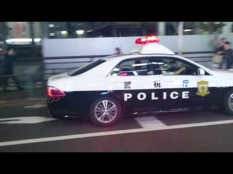 警視庁パトカー「池袋1」職質で被疑者逮捕による緊急走行