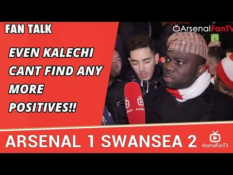 Even Kalechi Cant Find Any more Positives!!  | Arsenal 1 Swansea 2