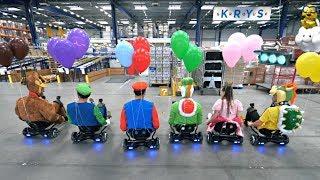 Mario Kart Ballons en vrai thumbnail