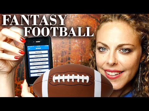 ASMR Ear to Ear Whisper Fantasy Football! Binaural Reading PlayDraft App Review