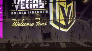 Complete Tour Of LV Golden Knights NHL Arena