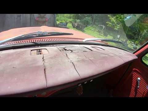 1967 Ford F100 Dash Pad Removal