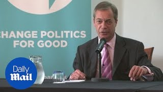 Farage claims Boris and Steve Bannon speak to one another