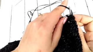 Вяжем рукав от плеча