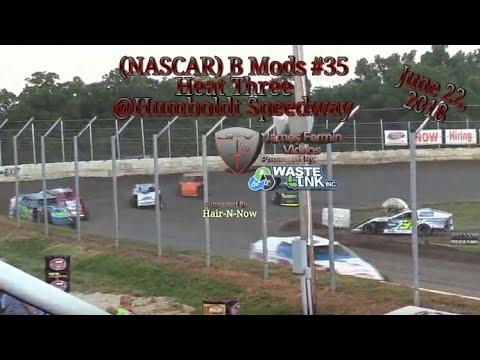 (NASCAR) B Mods #35, Heat 3, Humboldt Speedway, 06/22/18
