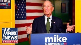Bloomberg bashes 2020 Dems as Biden attacks media