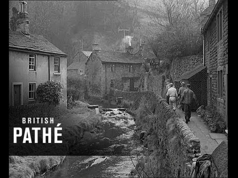 Pothole Tragedy - Student Stuck In Derbyshire Cave (1959)