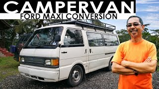 S2 EP 18 | DIY CAMPERVAN CONVERSION Ford Maxi | #VANTOUR