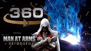 Welding The Sword of Altair in 360° - Assassi...
